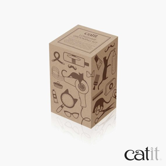 Catit longhair grooming kit packaging