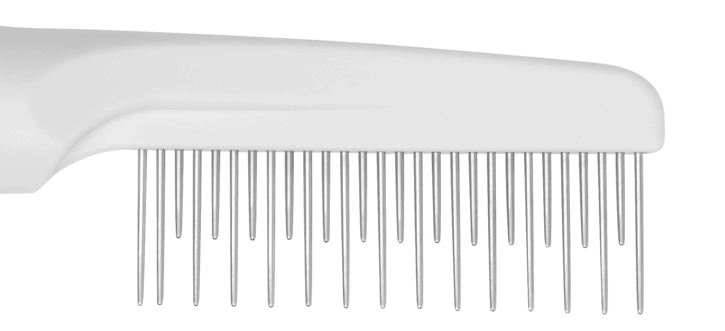 Close-up Grooming Comb with Rolling Pins
