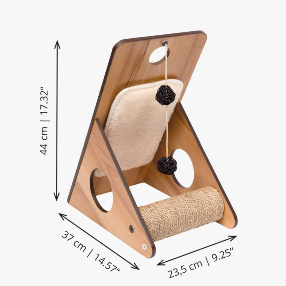 52071 - Vesper Play center – Walnut_Measurement