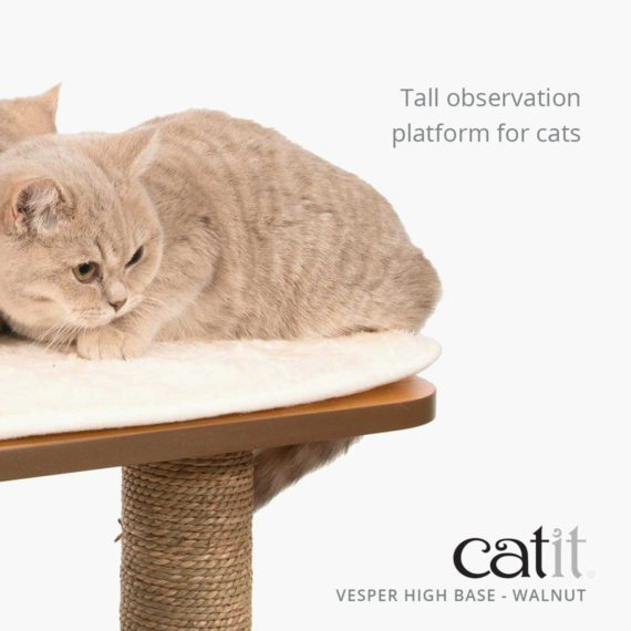 Vesper High Base is a tall observation platform for cats