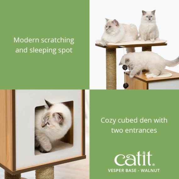 Vesper Base has comfortable memory-foam cushions and high-quality MDF with walnut-look or oak-look laminate finish