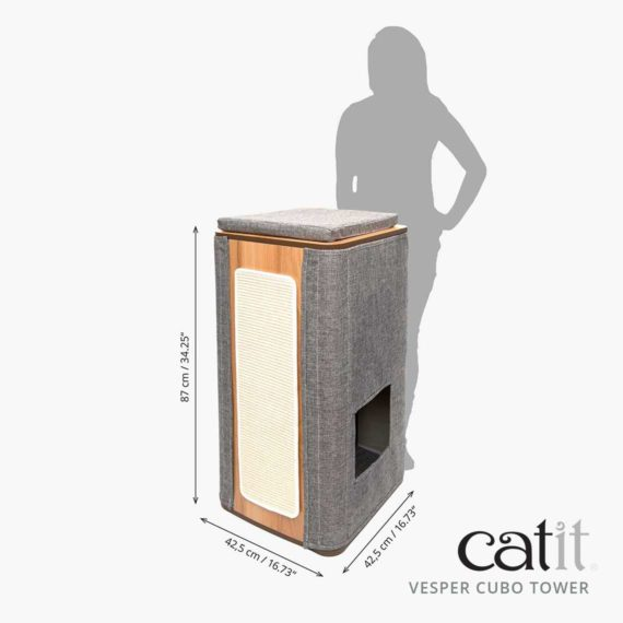 Vesper Cubo Tower measurements
