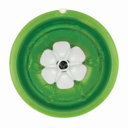 Top view of the Catit Flower Fountain without the flower bud