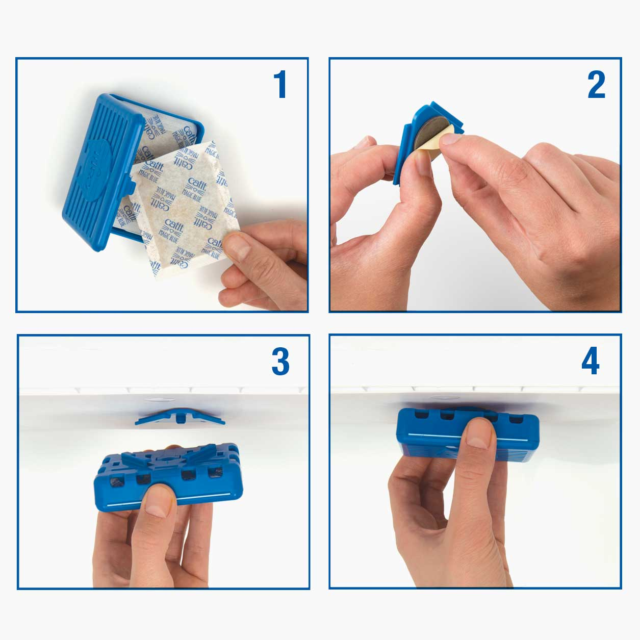 Steps to refilling Magic Blue Cartridge
