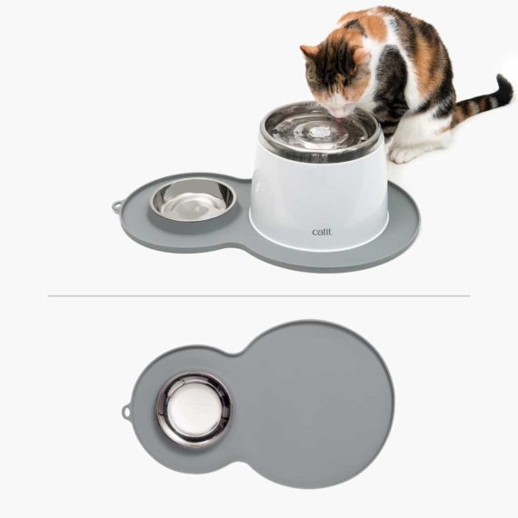 44013 - Peanut Placemat – Grey