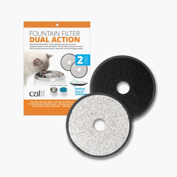 50029 - Dual Action Fountain Filter – 2 pack