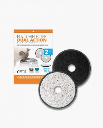 Dual Action Foutain Filter Packaging