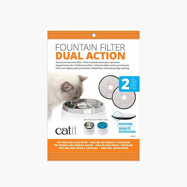 dual action filter packaging