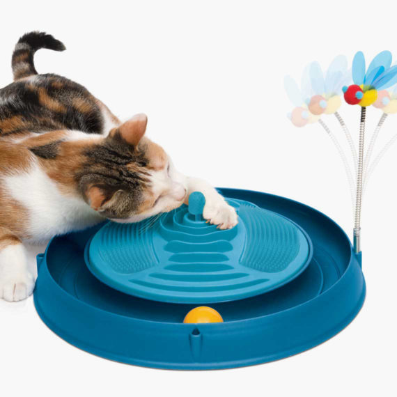 43001 - Circuit Ball Toy with Catnip Massager copy