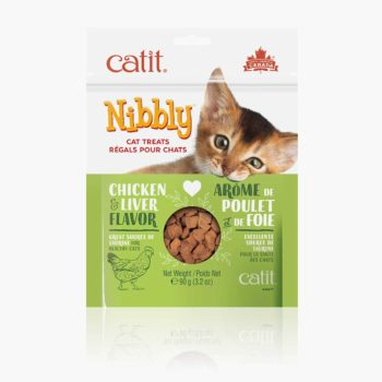 44477 - Catit Nibbly - Chicken & Liver