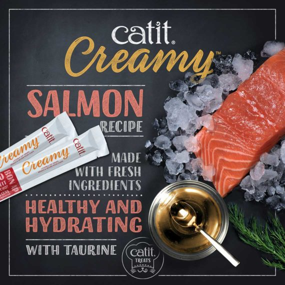 Catit Creamy - Salmon made with fresh ingredients