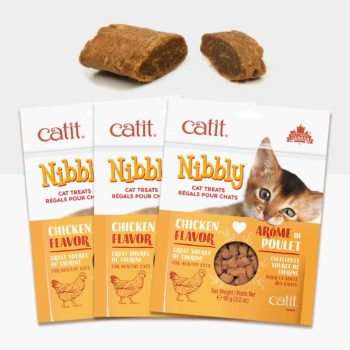 44476P1 - Catit Nibbly – Chicken 3 Pack