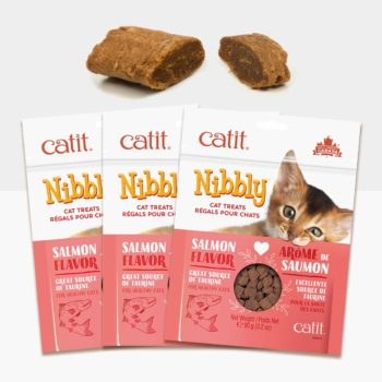 44478P1 - Catit Nibbly – Salmon 3 pack