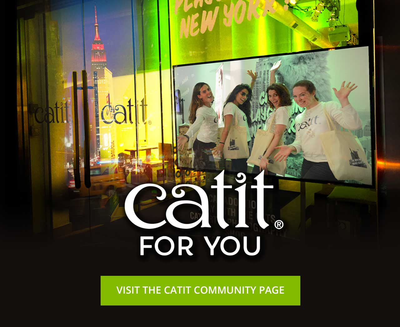 Catit for you - visit the Catit community page