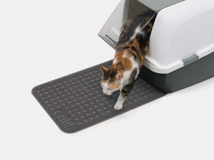 Catit Litter Mat will keep the floor free of cat litter - small