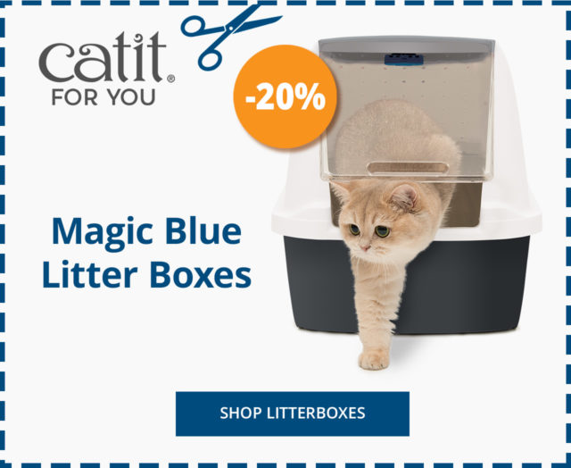 Launch Coupon - Magic Blue Litterbox 20% off