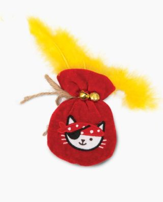 Pirates-Catnip-Toy-Pouch-of-Gold-A