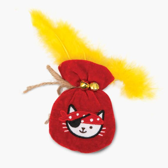 42483 - Pirates Catnip Toy - Pouch of Gold