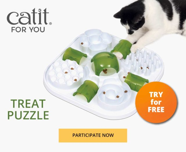 Catit for you - Treat puzzle - participate now