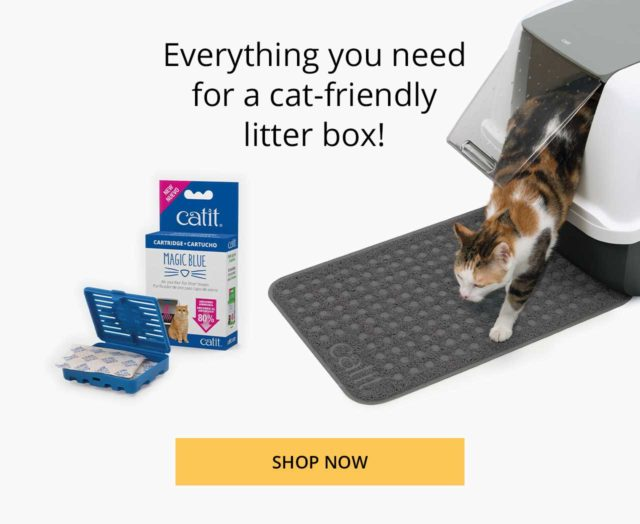 Everything you need for a cat-friendly litter box - shop now_new