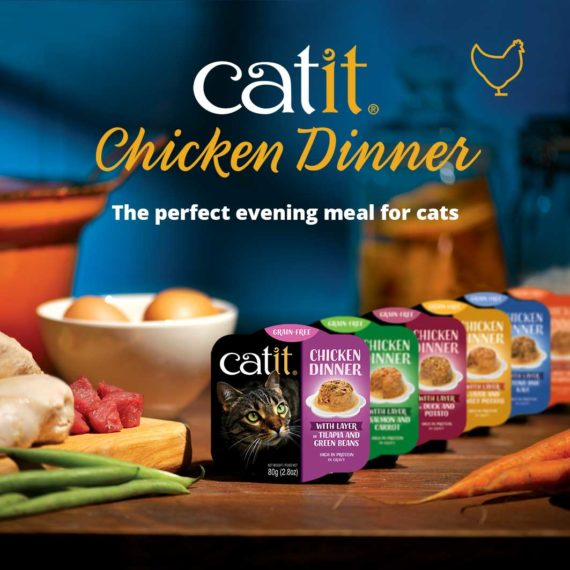 Catit Chicken Dinner - The perfect evening meal for cats