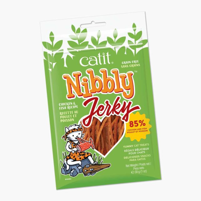 44482 - Nibbly Chicken Fish Jerky