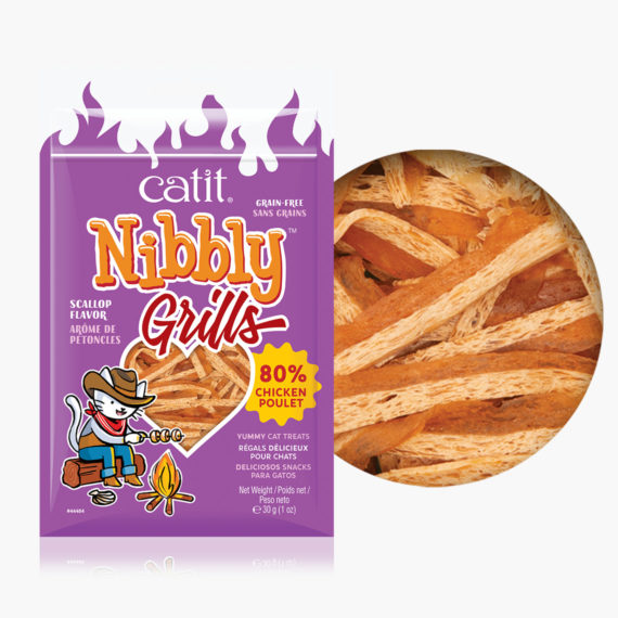 Catit Nibbly Grills - Scallop flavor