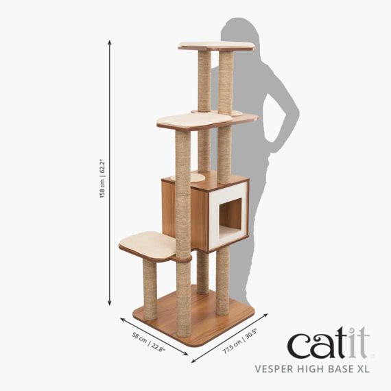 Catit Vesper High Base XL dimensions