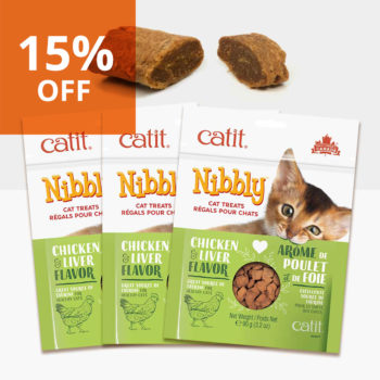 Promo 15% off - Nibbly Chicken & Liver 3pack