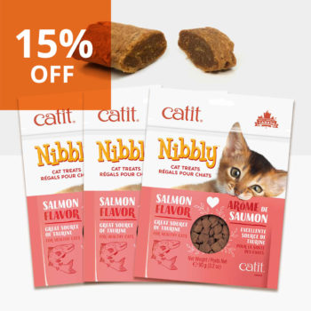Promo 15% off - Nibbly Salmon 3pack