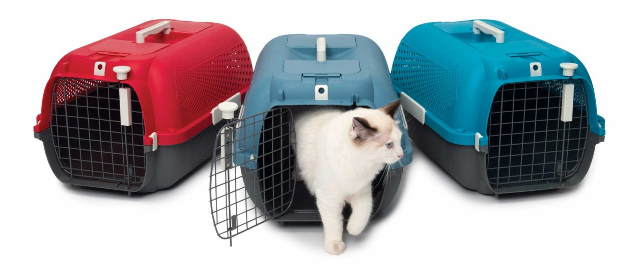Catit Cat Carrier is available in 3 colors