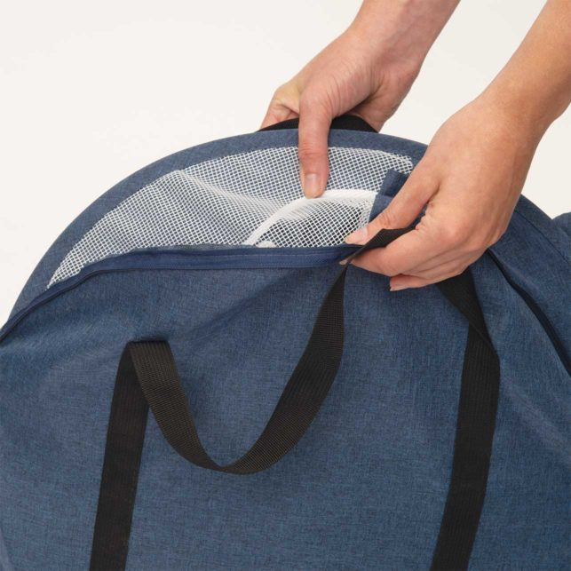 The Vesper Rocket is easy to fold up and store in the included storage bag.