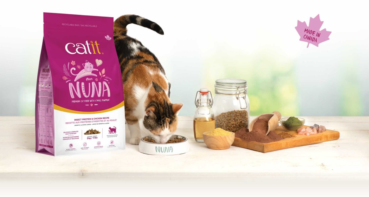 Catit Nuna Food - Kitchen setup - made in Canada