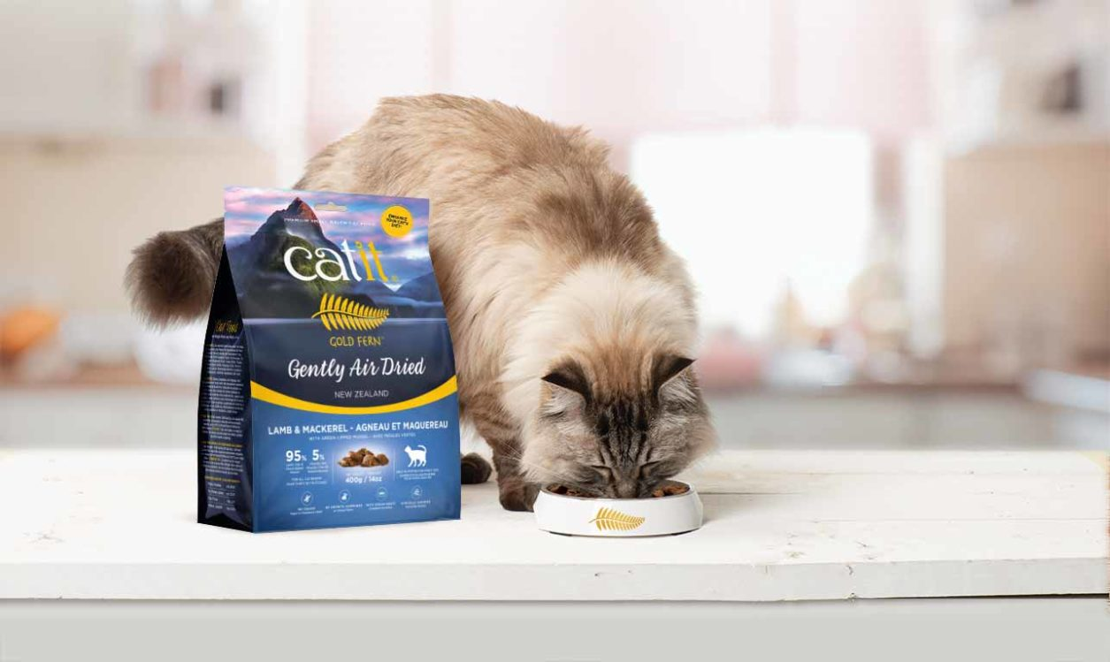Gold Fern - Enhance your cat's diet