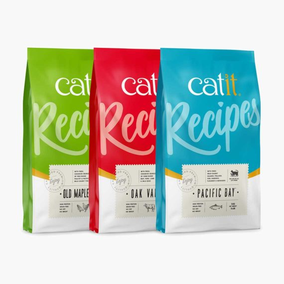 44695-44699 Catit Recipes - Premium Kibble