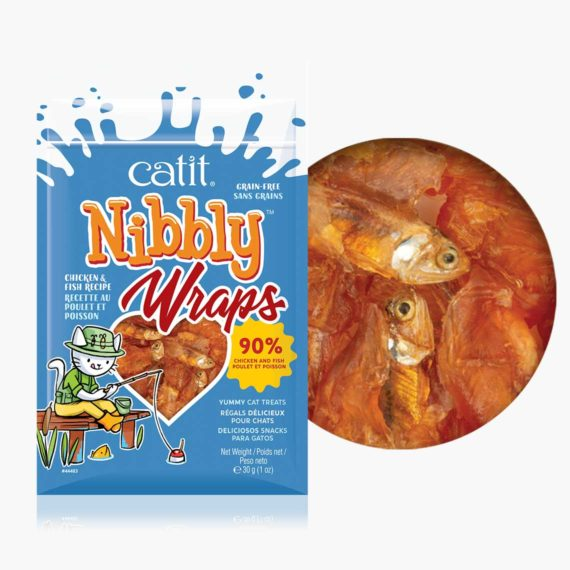 Nibbly Wraps Chicken & Fish