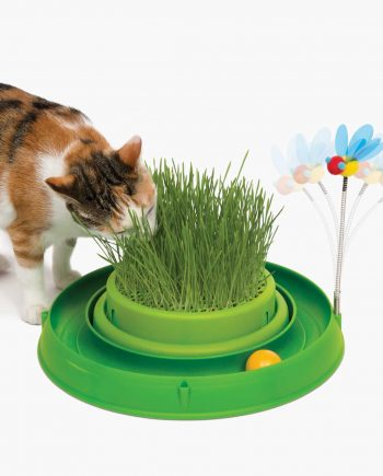 Circuit Ball Toy-Cat Grass