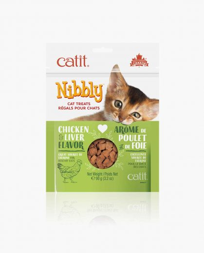 Nibbly Cat Treats Chicken Liver
